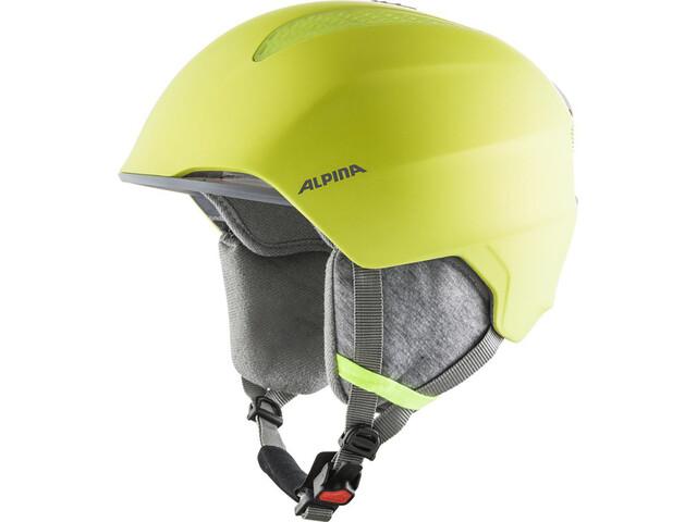 Alpina Grand Ski Helmet Kids, neon/yellow